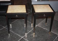 Jacques Adnet Jacques Adnet Parchment Side Tables France 1940 - 1123814