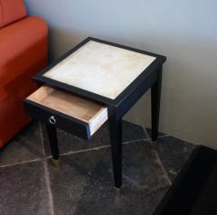 Jacques Adnet Jacques Adnet Parchment Side Tables France 1940 - 1123815