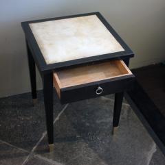 Jacques Adnet Jacques Adnet Parchment Side Tables France 1940 - 1123816
