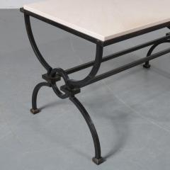 Jacques Adnet Jacques Adnet and Gilbert Poillerat Coffee Table France circa 1942 - 966570