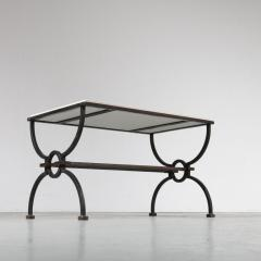 Jacques Adnet Jacques Adnet and Gilbert Poillerat Coffee Table France circa 1942 - 966572