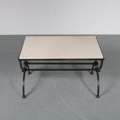 Jacques Adnet Jacques Adnet and Gilbert Poillerat Coffee Table France circa 1942 - 966573