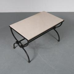 Jacques Adnet Jacques Adnet and Gilbert Poillerat Coffee Table France circa 1942 - 966574