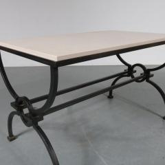 Jacques Adnet Jacques Adnet and Gilbert Poillerat Coffee Table France circa 1942 - 966575