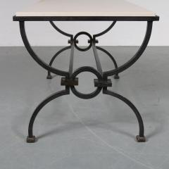 Jacques Adnet Jacques Adnet and Gilbert Poillerat Coffee Table France circa 1942 - 966576