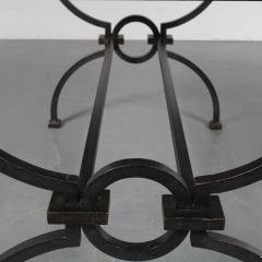 Jacques Adnet Jacques Adnet and Gilbert Poillerat Coffee Table France circa 1942 - 966577