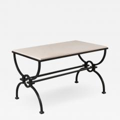 Jacques Adnet Jacques Adnet and Gilbert Poillerat Coffee Table France circa 1942 - 966955