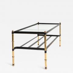 Jacques Adnet Jacques Adnet leather wrapped low table - 1059352