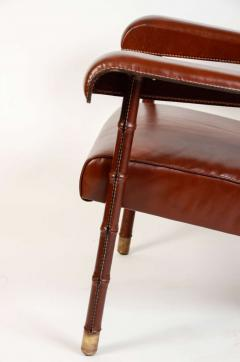 Jacques Adnet Pair of armchairs - 731499