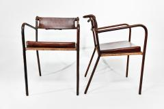 Jacques Adnet Pair of armchairs - 1986450