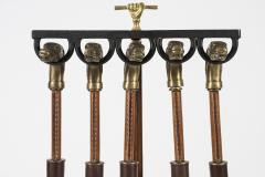 Jacques Adnet Rare Fireplace tools by Jacques Adnet - 1126387