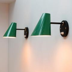 Jacques Biny Pair of Jacques Biny Wall Lamps 1950 - 1038860
