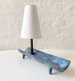 Jacques Blin JACQUES BLIN BLUE TRAY LAMP - 1845864