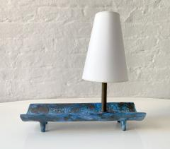Jacques Blin JACQUES BLIN BLUE TRAY LAMP - 1845866