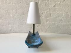 Jacques Blin JACQUES BLIN BLUE TRAY LAMP - 1845867