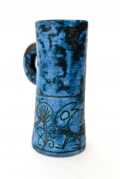 Jacques Blin JACQUES BLIN FRENCH CERAMIC ARTIST BLUE CERAMIC PITCHER C 1960 - 1038230