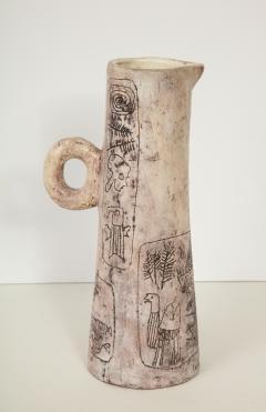 Jacques Blin RARE LARGE CERAMIC BLIN PITCHER - 1790080