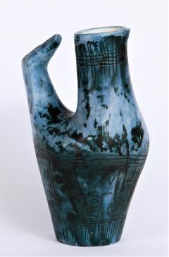 Jacques Blin Vase Oiseau Bleu - 502520