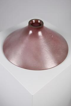 Jacques Dani Ruelland Jacques Dani Ruelland Large Lilac Cylindrical Bowl France 1960s  - 1584343