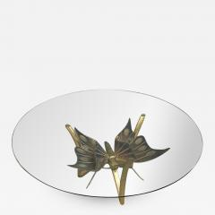 Jacques Duval Brasseur Brass Butterfly Coffee Table Attributed to Jacques Duval Brasseur - 1563380