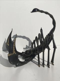 Jacques Duval Brasseur Bronze Scorpion Coffee Table attributed to Jacques Duval Brasseur - 439628