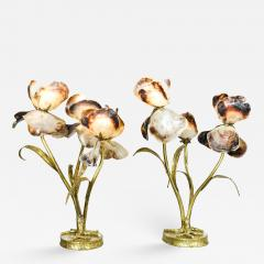 Jacques Duval Brasseur Jacques Duval Brasseur Pair of Table Lamps Signed France circa 1970 - 1395319