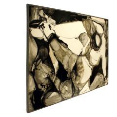 Jacques Fabert Decouverte Painting 1962 - 540367