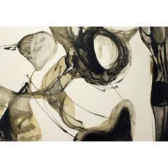 Jacques Fabert Decouverte Painting 1962 - 540373