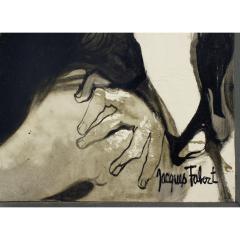 Jacques Fabert Decouverte Painting 1962 - 540374