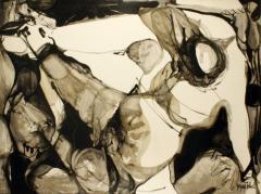 Jacques Fabert Decouverte Painting 1962 - 541842