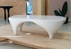 Jacques Jarrige Coffee Table in White Lacquer by Jacques Jarrige Toro  - 426472
