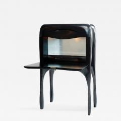 Jacques Jarrige - Drop Leaf Cabinet Sculpted by Jacques Jarrige