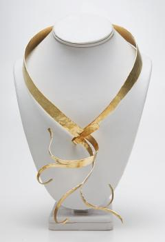 Jacques Jarrige Gold Necklace by Jacques Jarrige Flora  - 234983