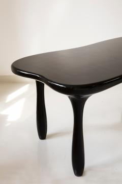 Jacques Jarrige Large Sculpted Desk Table in Lacquer by Jacques Jarrige - 401503