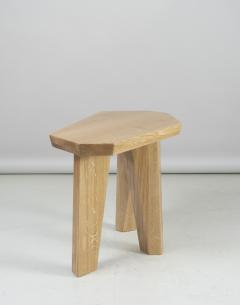 Jacques Jarrige Pair of SIDE TABLES in Oak by Jacques Jarrige Nazca  - 691399