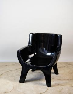 Jacques Jarrige Sculpted Lacquered ARMCHAIR Aubrac by Jacques Jarrige - 670492