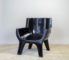 Jacques Jarrige Sculpted Lacquered ARMCHAIR Aubrac by Jacques Jarrige - 670493