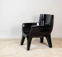 Jacques Jarrige Sculpted Lacquered ARMCHAIR Aubrac by Jacques Jarrige - 670496