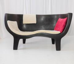 Jacques Jarrige Sculpted Sofa Love Seat Settee by Jacques Jarrige - 429594