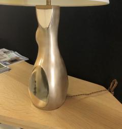 Jacques Jarrige Table Lamp Togo in Natural Bonze - 1512108