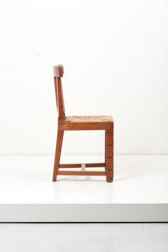 Jacques Mottheau Set of Six Wooden Chairs by Jacques Mottheau France 1930s - 1044961