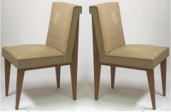 Jacques Quinet Jacques Quinet superb genuine pair of chairs in vintage condition - 1133331