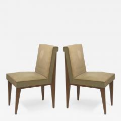 Jacques Quinet Jacques Quinet superb genuine pair of chairs in vintage condition - 1133703