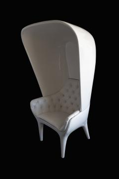 Jaime Hayon Jaime Hayon Showtime Armchair White Lacquered with Cover - 1009683