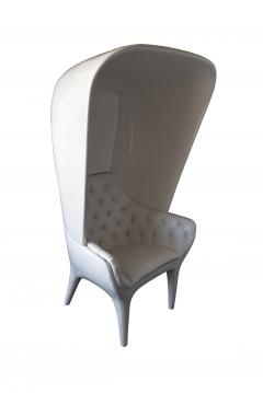 Jaime Hayon Jaime Hayon Showtime Armchair White Lacquered with Cover - 1009684