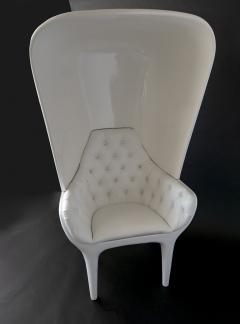 Jaime Hayon Jaime Hayon Showtime Armchair White Lacquered with Cover - 1009686