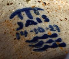 Jais Nielsen Colossal floor vase with handles in glazed ceramics - 1412647