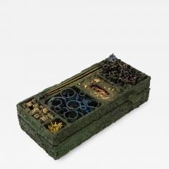 James Anthony Bearden James Bearden Segment Jewelry Box - 923524