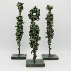James Anthony Bearden James Bearden Set of Three Cathedral Series Figures - 1004376