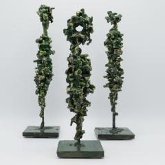 James Anthony Bearden James Bearden Set of Three Cathedral Series Figures - 1004377